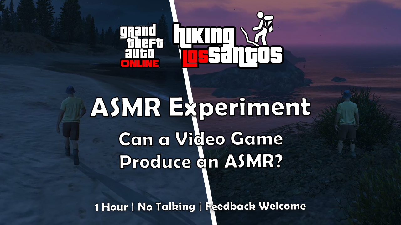 ASMR No Talking Experiment on a Game Server