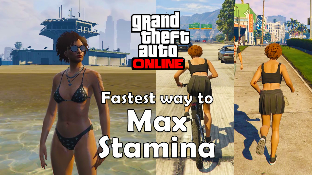 Fastest Way to Max Your Stamina (GTA Online)