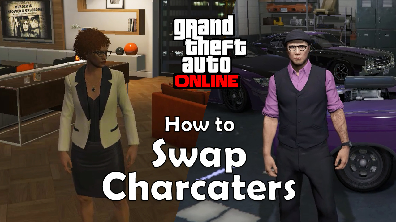 How to Swap Between Characters (GTA Online)