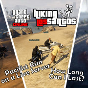 GTA Online Pacifist spends 7 hours on a live server | Hiking Los Santos